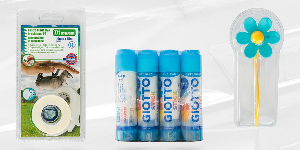 Imballaggio e confezionamento con blister